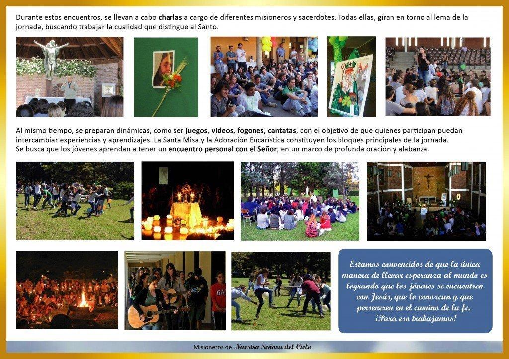 Carpeta Institucional - Cenaculos de Jovenes 3