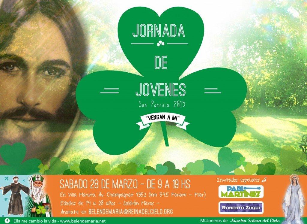 Invitacion Jornada de San Patricio 2015