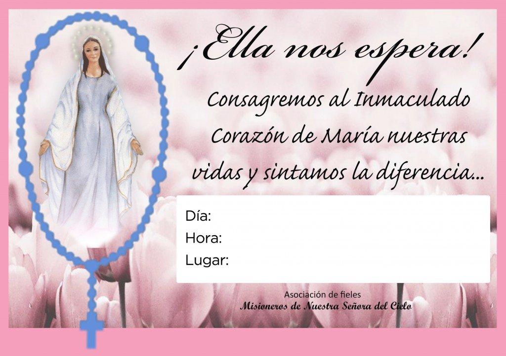 Invitacion Consagración 08-12-15 - Comunidades