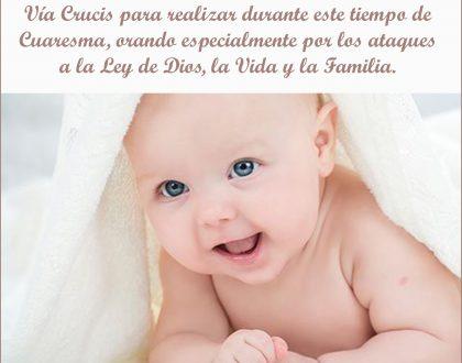 Via Crucis por la vida y la familia