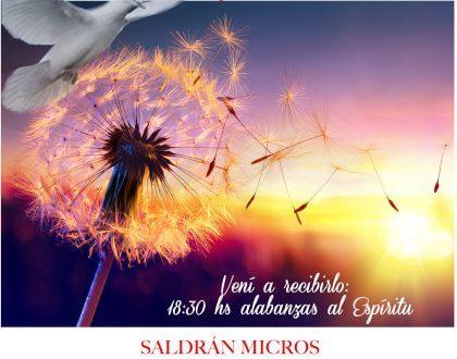 ¡El Sábado 19 de Mayo -> Super Fiesta del Espritu!