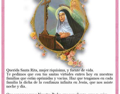 ✨22 de Mayo: dia de Santa Rita