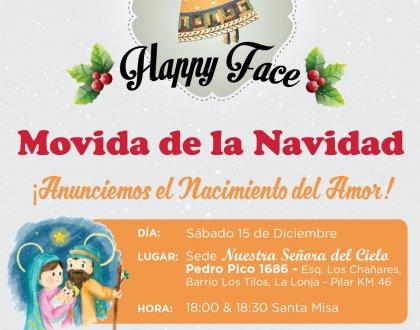 Sumate a la movida de Navidad 🎅🏻  Sumate a Happy Face