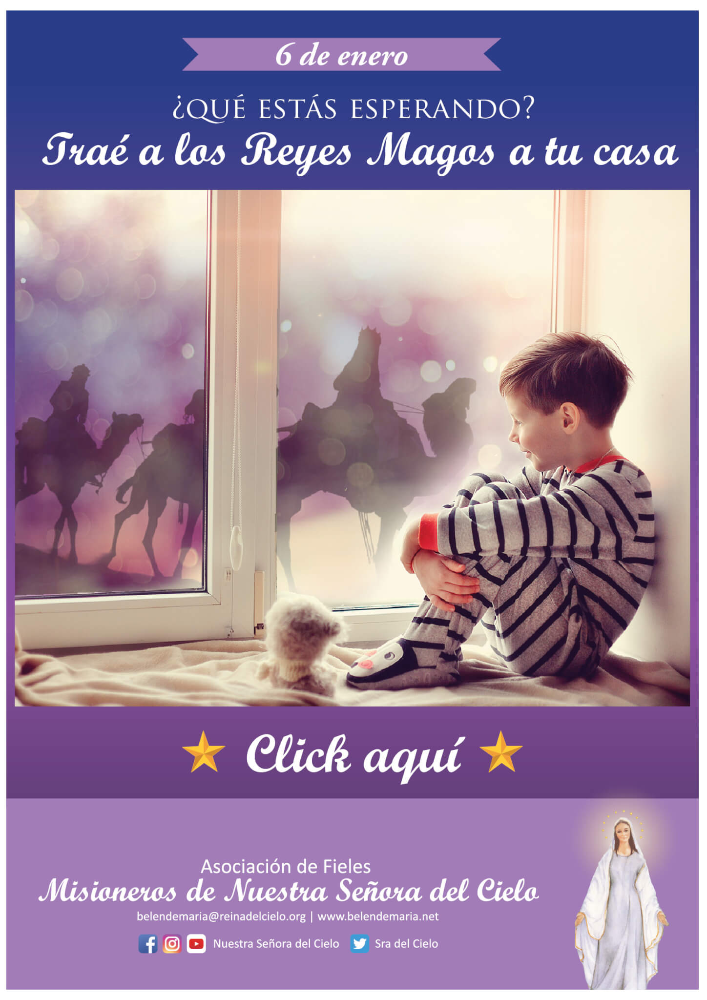 Trae a los Reyes Magos a tu casa