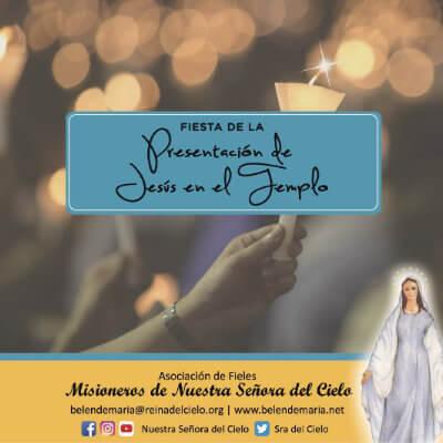 Fiesta de la Presentación de Jesús en el Templo