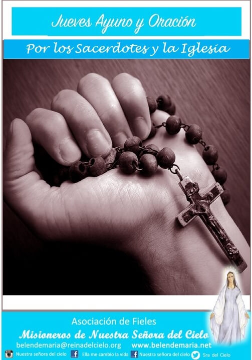 Todos los jueves 🙌🏼 Ayuno y Oración 🙌🏼