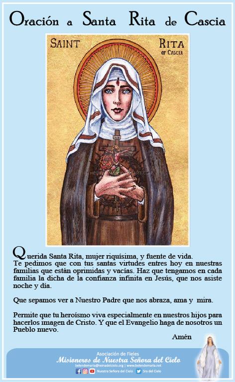 Gloriosa Santa Rita 🌹