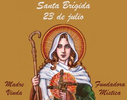 23 de Julio: dia de Santa Brígida