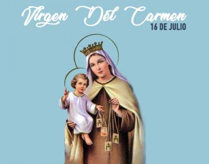 16 de Julio: dia de la Virgen del Carmen